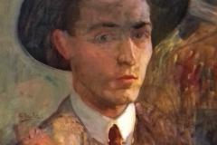 Autoportrait non daté, huile sur toile ( musée de Pontevedra)