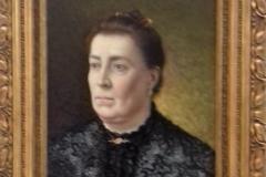 Mi Madre, 1904 Huile sur bois Musée de Pontevedra (avec cadre)