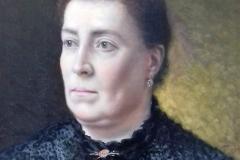 Mi Madre, 1904 Huile sur bois Musée de Pontevedra