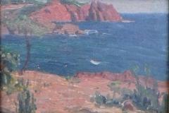 Paysage 2, huile sur bois. 1918. Musée de Pontavedra (2)