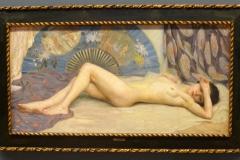 Nu, déposé au musée des Beaux Arts de la Corogne par Antonio Benjamin Pastor 1904. Huile sur toile