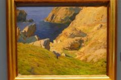 paysage de Belle Ile. Musée des Beaux arts de la Corogne