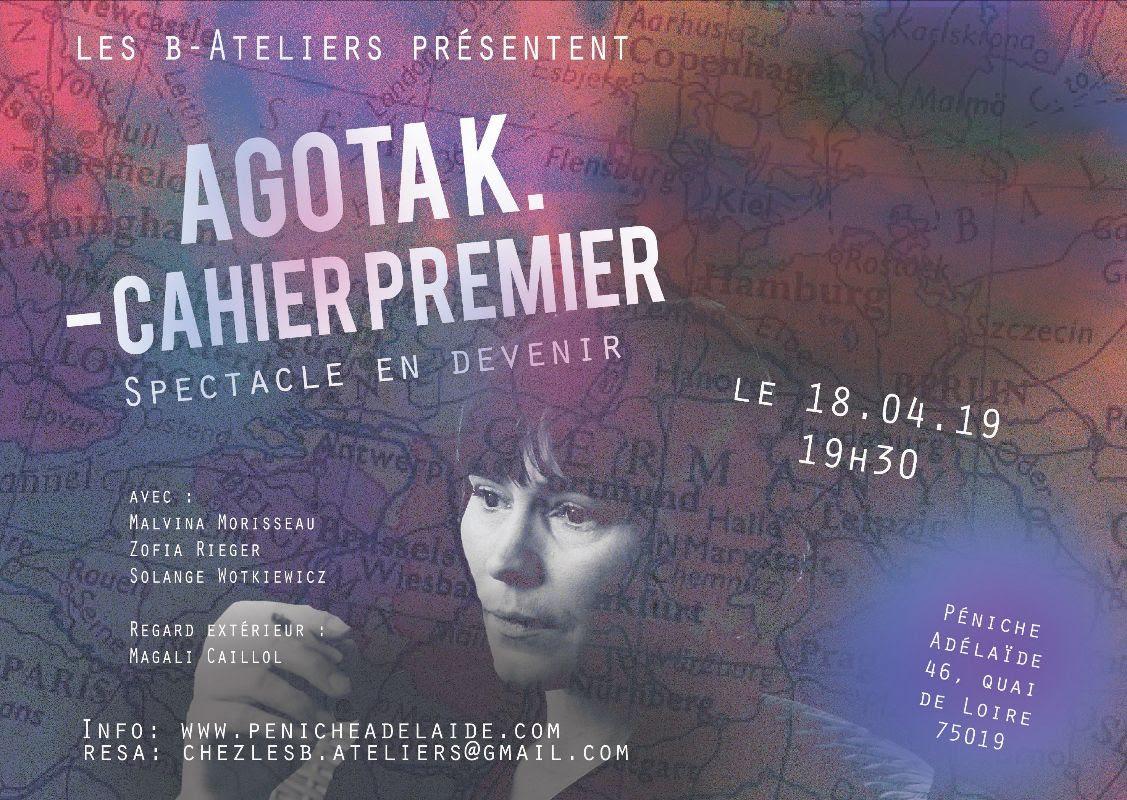 Agota K. – Cahier Premier